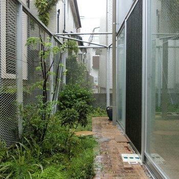 こんな庭のような空間も。アレンジしたいな! ※写真は前回募集時のものです。