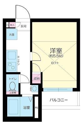 Casa Dolce Higashi Nakano の間取り
