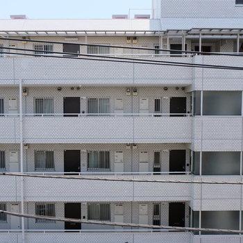 眺望はマンションビューです
