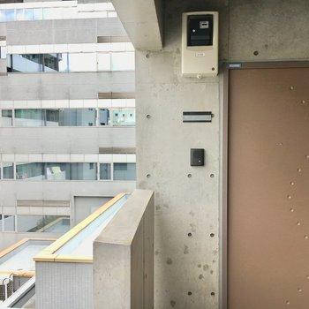 扉もちょっとオシャレ※写真は前回募集時のものです