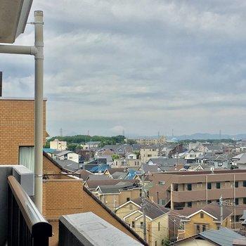 しかも富士山ビュー!晴れの日が楽しみだなあ