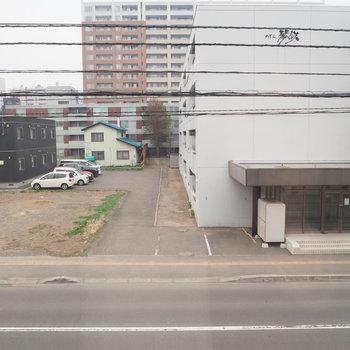 窓からはこんな感じの景色※写真は前回募集時のもの
