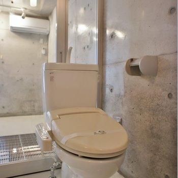 トイレはしっかりウォシュレット。※写真は前回撮影時のもの