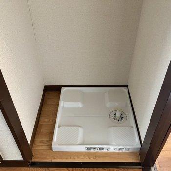 洗濯機置場があります。