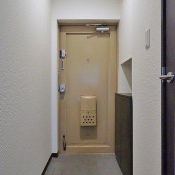 広めの玄関スペース