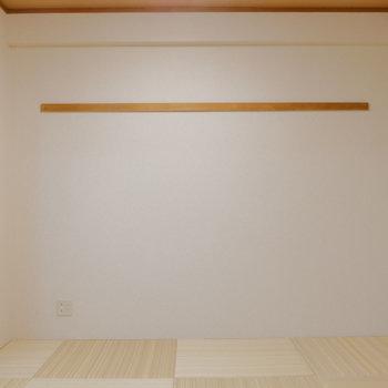 【和室】リビング横には和室。癒やしの空間。