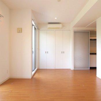 理路整然とした雰囲気の正統派デザイナーズです。 ※写真は201号室