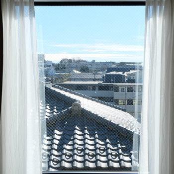 ロフトからもこんな風に見えます※写真は別部屋反転間取りのものです