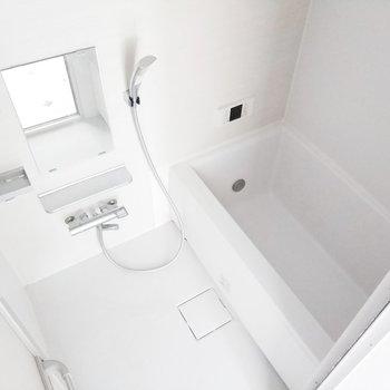 追焚、浴室乾燥機がついてて、助かります。