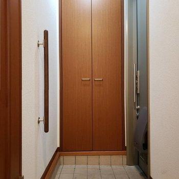玄関はけっこうゆったりめです。※写真は前回募集時のものです