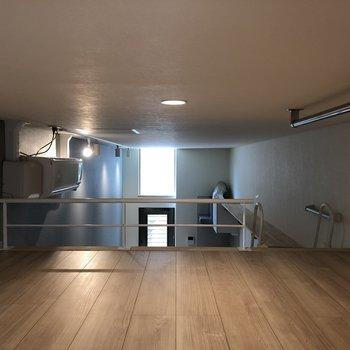 天井は低いですが、ロフトで気持ちよくごろごろしたい※写真は前回募集時のものです