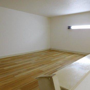 広々としたロフトスペースです!※1階別部屋反転間取りの写真です。