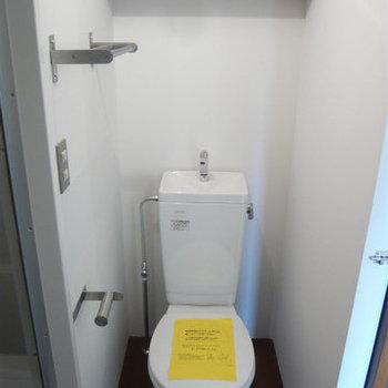 脱衣所におトイレ。※写真は前回募集時のものです