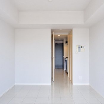 本当にシンプルな空間です。