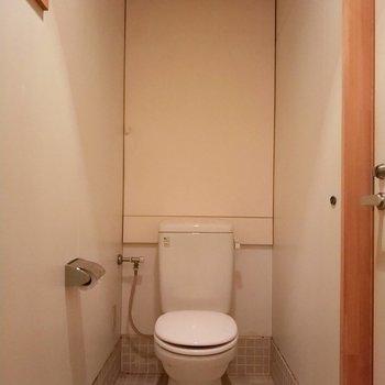 お手洗いはシンプルに収納なし。※写真は前回募集時のものです