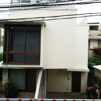 眺望はお隣さん家です。※写真は前回募集時のものです