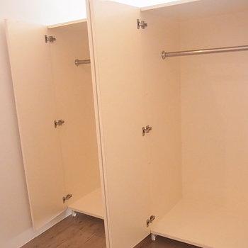 収納は奥行きがあります ※6階同間取りのお部屋の写真です