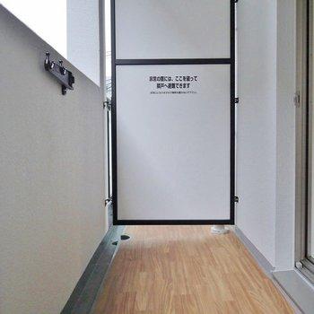 普通サイズ。※写真は別室です。