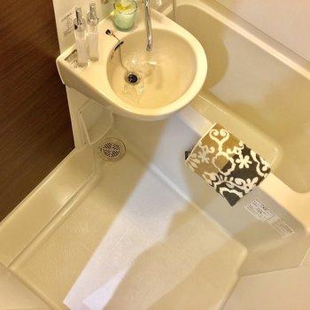 シャワースペースは確保されています
