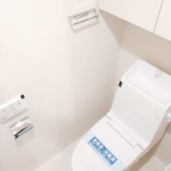 トイレは嬉しい個室ですよ!