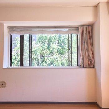 出窓で植物育ててみませんか?※クリーニング前の写真です。