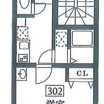 キッチンとお部屋は一枚隔てて。