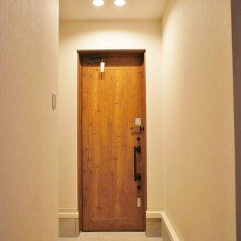 木のドアが◎