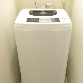洗濯機付きならすぐ住めますね。