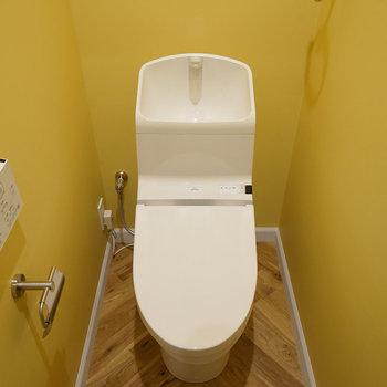 トイレもイエロー