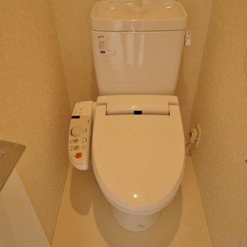 トイレもまだまだ現役!ピカピカです♪いお部屋!。※写真は同一フロアの別部屋