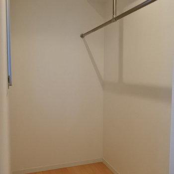 デザイナーズにしては珍しく大きなWIC付きなのが嬉しい!!(※写真は7階の同間取り別部屋のものです)