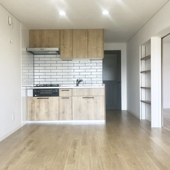 見つけた、隠れ家キッチン