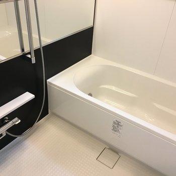 広々お風呂は嬉しいポイント。