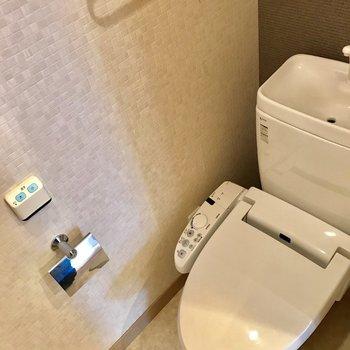 トイレにはウォシュレット。