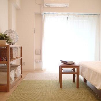 やわらかい印象のお部屋です※写真は別部屋反転間取りのものです。