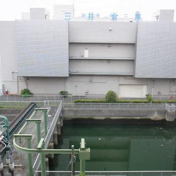 ベランダからの眺めです ※5階同間取りの別部屋の写真です