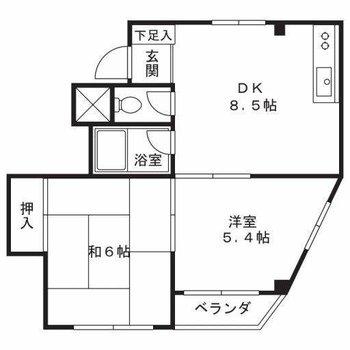 6帖の和室がとても良いですね。