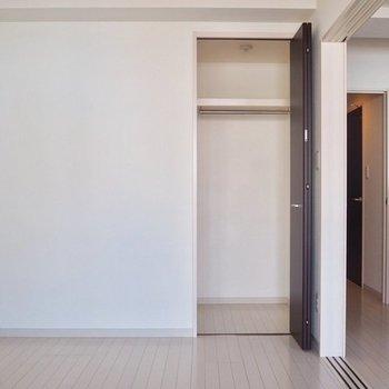6帖洋室の収納はこのタイプ※写真は6階の同間取り別部屋