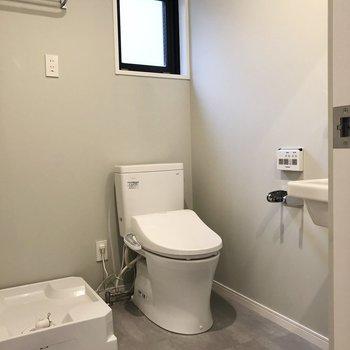 次はトイレ兼脱衣所です。※写真は前回募集時のものです