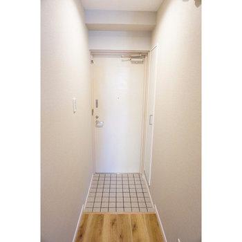 次は玄関スペースへ。※写真は前回募集時のものです