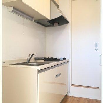 キッチンはこれで充分でしょ。