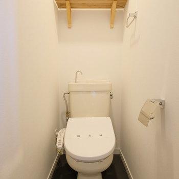 トイレはウォシュレット付きですよ◎※写真は前回募集時のもの
