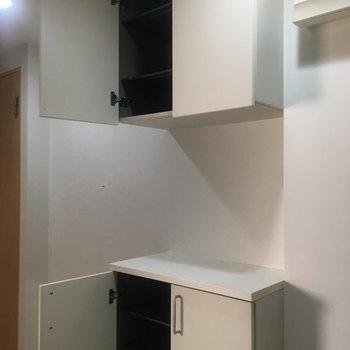シューズボックスもたっぷり※7階の同間取り別部屋の写真です