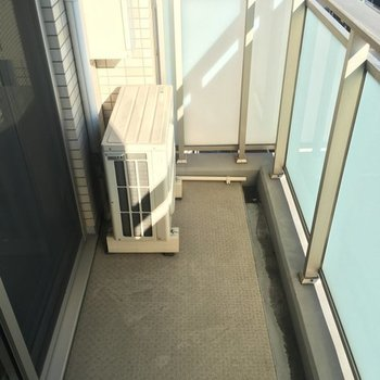 外干しには充分かな※7階の同間取り別部屋の写真です