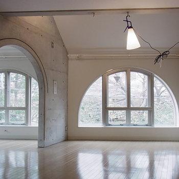 アーチの開口がとてもかわいい※3階の同間取り別部屋の写真です
