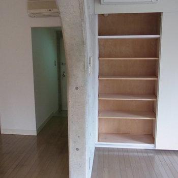 エアコンももちろん※3階の同間取り別部屋の写真です