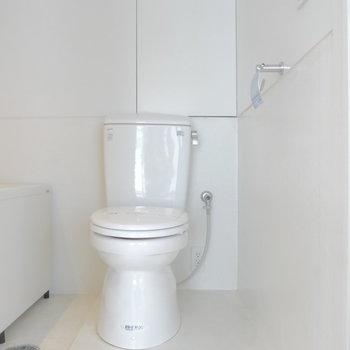 トイレはユニットタイプです。