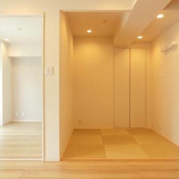 畳空間と洋室
