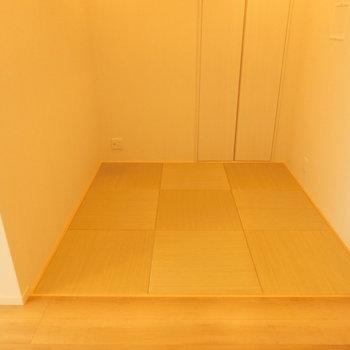 畳とフローリングの境界