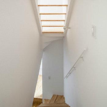 スケルトンな階段※似た間取り別部屋の写真です